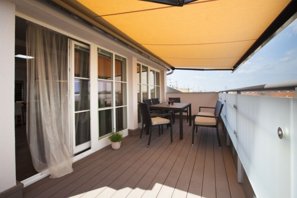 Loft apartment - terrace
