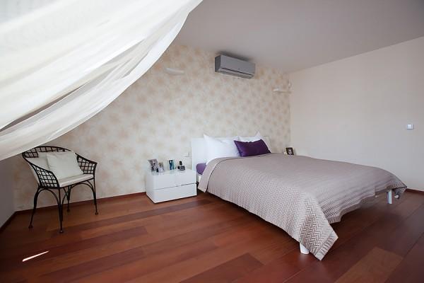 Půdní byty - ložnice