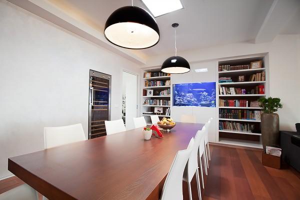 Loft apartment - dining area